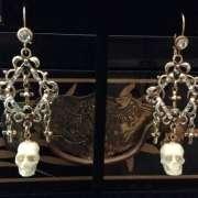 Skeleton Chandelier Earrings