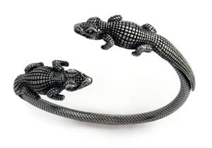 double-gator-bangle