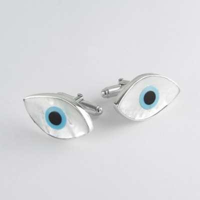 evil eye cufflinks