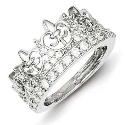 fleur-de-lis-crown-cz-ring