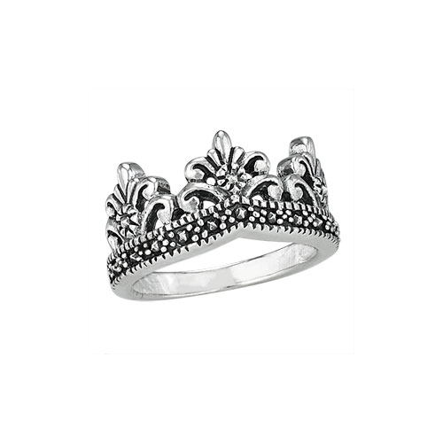 granulated-crown-ring