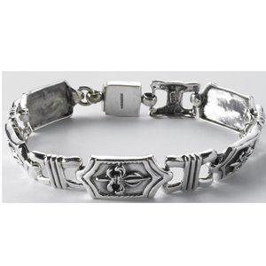 men's fleur de lis bracelet