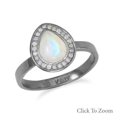 midnight halo ring
