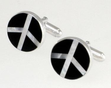 peace-cufflinks