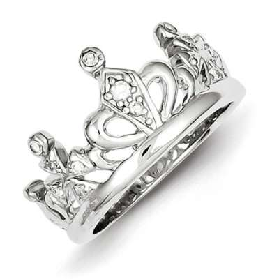 polished-cz-crown-ring