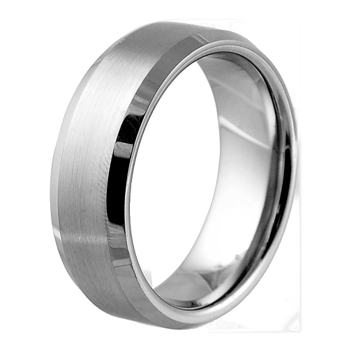 satin finished tungsten