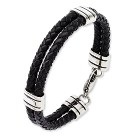steel-and-double-leather-bracelet