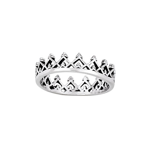 triange crown ring