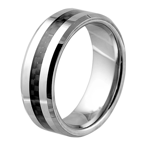 tungsten with 3mm carbon fiber inlay