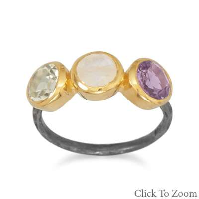 two-tone-multistone-ring