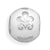white-bead-with-fleur-de-lis-story-bead