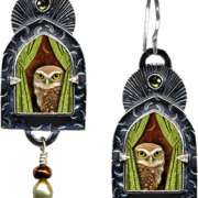 wise-old-owl earrings