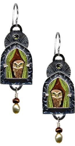 wise-old-owl earrings